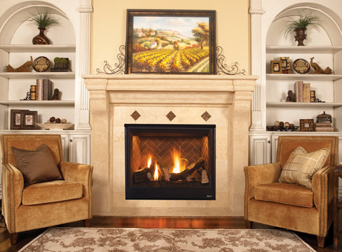 Superior DRT3500 Series Direct-Vent Gas Fireplace