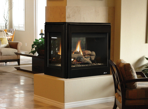 Superior DRT4000 Series Multi-View Gas Fireplace